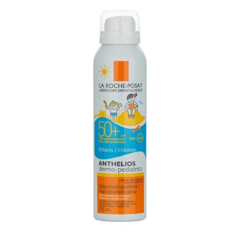 LA ROCHE POSAY SPRAY ANTHELIOS DERMOPEDIÁTRICO BRUMA FPS 50+ x 125 ml