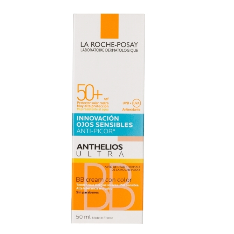 LA ROCHE POSAY ANTHELIOS XL BB CREMA CON COLOR FPS 50+ x 50 ml